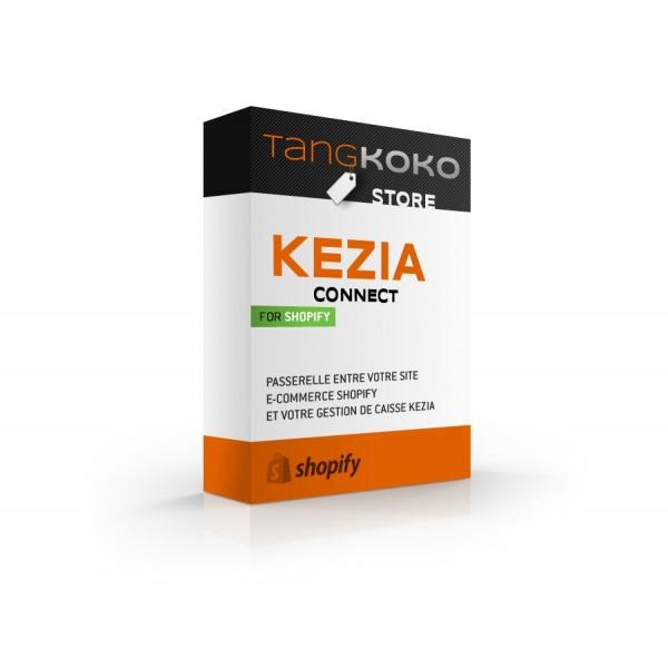 JDC Kezia Connect pour Shopify - Cloud Edition - Abonnement mensuel
